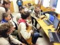 Táborák se slovenskými skautkami přes skype